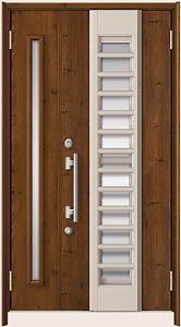 取替え玄関ドア リシェント 木彫