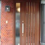 古賀市E様 リシェント玄関ドアM27型 施工後